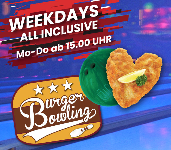 Wochentags Angebot Bowling Luebeck